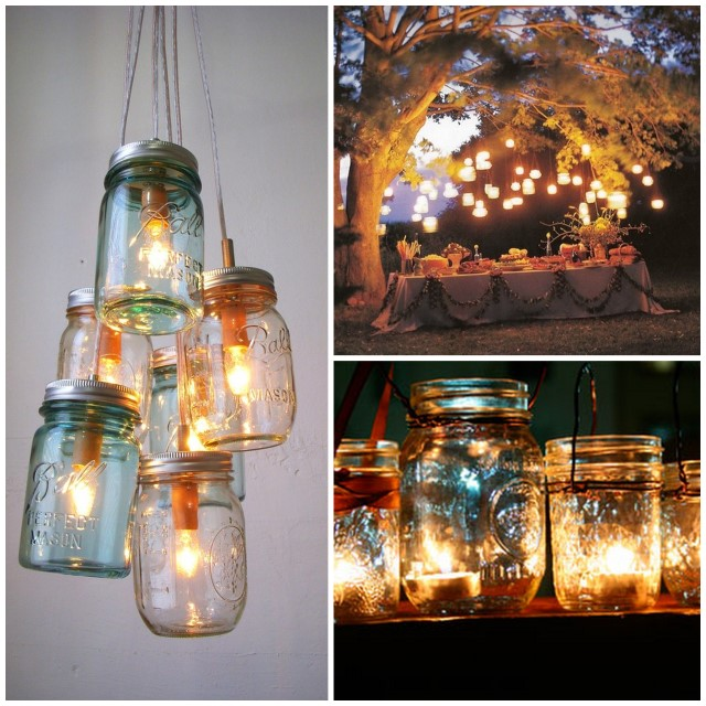diy lighting for wedding. Diy Lighting Wedding. Mason Jars! Wedding For